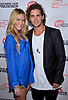 """SARAH CARROLL AND SPENCER FALLS.attends Premiere of """"Machine Gun Preacher"""" at the Academy Theatre, Beverly Hills, Los Angeles_21/09/2011.Mandatory Photo Credit: ©Crosby/Newspix International. .**ALL FEES PAYABLE TO: """"NEWSPIX INTERNATIONAL""""**..PHOTO CREDIT MANDATORY!!: NEWSPIX INTERNATIONAL(Failure to credit will incur a surcharge of 100% of reproduction fees).IMMEDIATE CONFIRMATION OF USAGE REQUIRED:.Newspix International, 31 Chinnery Hill, Bishop's Stortford, ENGLAND CM23 3PS.Tel:+441279 324672  ; Fax: +441279656877.Mobile:  0777568 1153.e-mail: info@newspixinternational.co.uk"""