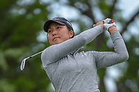 Lauren Kim (USA) watches her tee shot on 12 during round 1 of  the Volunteers of America LPGA Texas Classic, at the Old American Golf Club in The Colony, Texas, USA. 5/4/2018.<br /> Picture: Golffile | Ken Murray<br /> <br /> <br /> All photo usage must carry mandatory copyright credit (&copy; Golffile | Ken Murray)