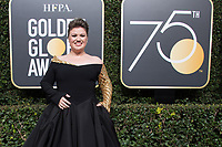 Kelly Clarkson attends the 75th Annual Golden Globes Awards at the Beverly Hilton in Beverly Hills, CA on Sunday, January 7, 2018.<br /> *Editorial Use Only*<br /> CAP/PLF/HFPA<br /> &copy;HFPA/Capital Pictures