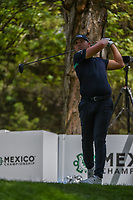 Matthew Wallace (ENG) watches his tee shot on 16 during round 3 of the World Golf Championships, Mexico, Club De Golf Chapultepec, Mexico City, Mexico. 2/23/2019.<br /> Picture: Golffile | Ken Murray<br /> <br /> <br /> All photo usage must carry mandatory copyright credit (© Golffile | Ken Murray)