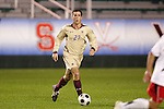14 November 2008: Boston College's Jamie Melas. The University of Maryland defeated Boston College 1-0 at WakeMed Stadium at WakeMed Soccer Park in Cary, NC in a men's ACC tournament semifinal game.
