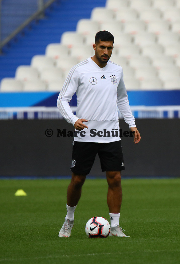 Emre Can (Deutschland, Germany)- 15.10.2018: Abschlustraining Deutschland vor dem Spiel Frankreich vs. Deutschland, 4. Spieltag UEFA Nations League, Stade de France, DISCLAIMER: DFB regulations prohibit any use of photographs as image sequences and/or quasi-video.