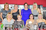 Pictured at the Bailey's Corner staff party on Saturday night are, front l-r: Helen Coffey, Bernie Roche, Teresa Roche, Donna Coffey. Back l-r: Ethel Meehan, Sandra O'Sullivan, Cathy Sheehan and Yvonne O'Sullivan.