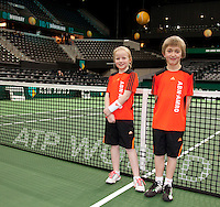 14-02-12, Netherlands,Tennis, Rotterdam, ABNAMRO WTT, Ballkids