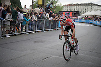 Tim Wellens (BEL/Lotto-Soudal) flying solo in the last laps around Torino<br /> <br /> stage 21: Cuneo - Torino 163km<br /> 99th Giro d'Italia 2016