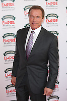Arnold Schwarzenegger at The Jameson Empire Film Awards 2014 - Arrivals, London. 30/03/2014 Picture by: Henry Harris / Featureflash