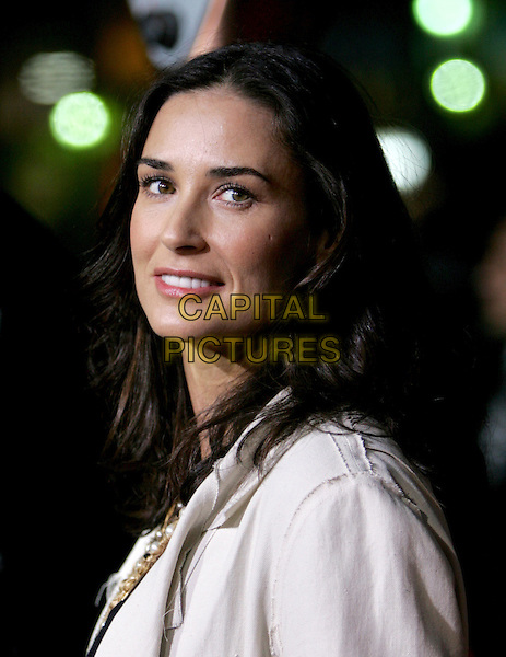 "DEMI MOORE.Columbia Pictures' World Premiere of ""Guess Who"" held at The Grauman's Chinese Theatre in Hollywood, California .March 13th, 2005.headshot portrait .www.capitalpictures.com.sales@capitalpictures.com.Supplied By Capital PIctures"