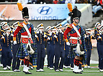 The Notre Dame Fighting Irish band in action during the 2010 Hyundai Sun Bowl football game between the Notre Dame Fighting Irish and the Miami Hurricanes at the Sun Bowl Stadium in El Paso, Tx. Notre Dame defeats Miami 33 to 17...
