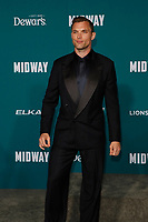 "LOS ANGELES - NOV 5:  Ed Skrein at the ""Midway"" Premiere at the Village Theater on November 5, 2019 in Westwood, CA"