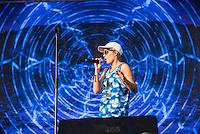 CIUDAD DE MEXICO, D.F. 21 Noviembre.- Kiesza durante el festival Corona Capital 2015 en el Autodromo Hermanos Rodríguez de la Ciudad de México, el 21 de noviembre de 2015.  FOTO: ALEJANDRO MELENDEZ