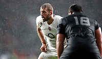 Photo: Richard Lane/Richard Lane Photography. England v New Zealand. QBE Autumn International. 08/11/2014. England captain, Chris Robshaw.