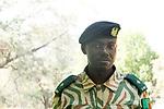 Anti-poaching commander, Kafue National Park, Zambia