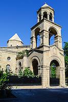 Azerbaijan, Baku. St. Gregory the Illuminator's Church is a non-functioning Armenian Apostolic church in downtown Baku.