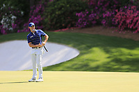 Rory McIlroy (NIR) on the 13th green during the 1st round at the The Masters , Augusta National, Augusta, Georgia, USA. 11/04/2019.<br /> Picture Fran Caffrey / Golffile.ie<br /> <br /> All photo usage must carry mandatory copyright credit (&copy; Golffile | Fran Caffrey)
