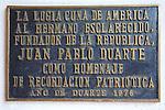 Juan Pablo Duarte Sign