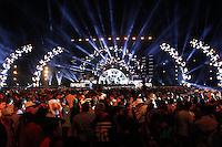 LONDRINA, PR, 08.11.2015 - SHOW-PR - Dupla sertaneja Bruno & Barretto durante gravação do DVD no Parque de Exposições Ney Braga em Londrina no Paraná neste domingo, 08. (Foto: Paduardo/Brazil Photo Press)