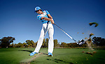 MURRIETA, CA - DECEMBER 19:  PGA Golfer Ricky Fowler poses for pictures during an instructional shoot for Golf Digest Magazine at Bear Creek Golf Course on December 19, 2012 in Murrieta, California. (Photo by Donald Miralle for Golf Digest)