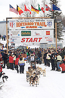 Rick Holt Willow restart Iditarod 2008.