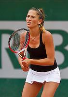 France, Paris, 27.05.2014. Tennis, French Open,Roland Garros, Alexandra Cadantu (ROU)<br /> Photo:Tennisimages/Henk Koster
