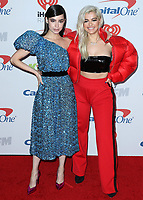LOS ANGELES- DECEMBER 1:  Sofia Carson and Bebe Rexha at the 102.7 KIIS FM's Jingle Ball 2017 at the Forum on December 1, 2017 in Los Angeles, California. (Photo by Scott Kirkland/PictureGroup)
