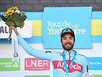 Rick Zabel (GER) Katusha-Alpecin wins Stage 2 of the 2019 Tour de Yorkshire, running 132km from Barnsley to Bedale, Yorkshire, England. 3rd May 2019.<br /> Picture: ASO/SWPix | Cyclefile<br /> <br /> All photos usage must carry mandatory copyright credit (© Cyclefile | ASO/SWPix)