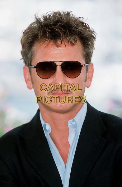 SEAN PENN..Cannes, 2001..Ref: 10854..headshot, portrait, sunglasses, shades..www.capitalpictures.com..sales@capitalpictures.com..©Capital Pictures