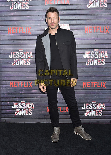 "HOLLYWOOD, CA - MAY 28: Wil Traval attends a Special Screening Of Netflix's ""Jessica Jones"" Season 3 at ArcLight Hollywood on May 28, 2019 in Hollywood, California.<br /> CAP/ROT/TM<br /> ©TM/ROT/Capital Pictures"