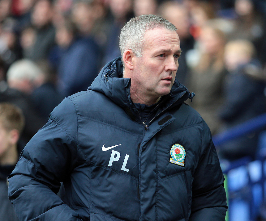 Blackburn Rovers manager Paul Lambert <br /> <br /> Photographer David Shipman/CameraSport<br /> <br /> Football - The Football League Sky Bet Championship - Bolton Wanderers v Blackburn Rovers - Monday 28th December 2015 - Macron Stadium - Bolton <br /> <br /> &copy; CameraSport - 43 Linden Ave. Countesthorpe. Leicester. England. LE8 5PG - Tel: +44 (0) 116 277 4147 - admin@camerasport.com - www.camerasport.com