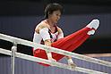 Kenya Kobayashi (JPN), JULY 2, 2011 - Artistic gymnastics : Japan Cup 2011 Men's Team Competition Parallel Bars at Tokyo Metropolitan Gymnasium, Tokyo, Japan. (Photo by YUTAKA/AFLO SPORT) [1040]