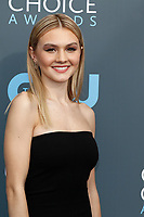 Alana Boden attends the 23rd Annual Critics' Choice Awards at Barker Hangar in Santa Monica, Los Angeles, USA, on 11 January 2018. Photo: Hubert Boesl - NO WIRE SERVICE - Photo: Hubert Boesl/dpa /MediaPunch ***FOR USA ONLY***