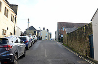 BNPS.co.uk (01202 558833)<br /> Pic: ShaftesburyHistoricalSociety/BNPS<br /> <br /> Pictured: Coppice Street in Shaftesbury has change dramatically from how it looked in the early 20th century. <br /> <br /> These charming photos reveal everyday life at the turn of the 20th century in a thriving market town later made famous by a TV advert.<br /> <br /> The black and white snapshots of Shaftesbury, Dorset, were taken by Albert Tyler who set up a photography business there in 1901.<br /> <br /> There are various street scenes and also images of the locals in traditional attire, with men in flatcaps and women in bonnets.<br /> <br /> Tyler photographed the busy opening of the town market in 1902, and a garden party where men played croquet.