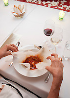 Diner at the Chef's Mexico City house. Aromas y Sabores with Chef Patricia Quintana