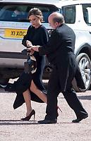 19 April 2017 - London, England - Victoria Beckham. Investitures at Buckingham Palace. Photo Credit: Alpha Press/AdMedia