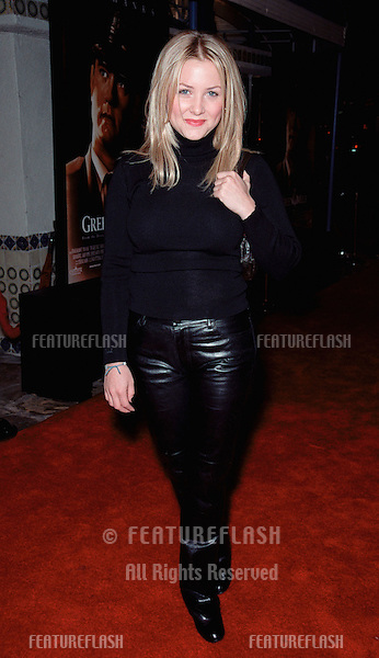 "06DEC99: Actress JESSICA CAPSHAW, daughter of Kate Capshaw, at the world premiere, in Los Angeles, of ""The Green Mile."".© Paul Smith / Featureflash"