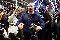 """British actor Ray Parks, who was Darth Maul at """"Star Wars Episode I"""" visit Expocomic 2016 in Madrid, Spain. December 03, 2016. (ALTERPHOTOS/BorjaB.Hojas) /NORTEPHOTO.COM"""