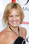 "Actress Sherry Stringfield arrives at the Much Love Animal Rescue Presents The Second Annual ""Bow Wow WOW!"" at The Playboy Mansion on July 19, 2008 in Beverly Hills, California."