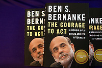 Ben Bernanke with Gary Locke - Seattle Town Hall at SU