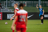 Kansas City, MO - Saturday May 27, 2017: Becky Sauerbrunn during a regular season National Women's Soccer League (NWSL) match between FC Kansas City and the Washington Spirit at Children's Mercy Victory Field.