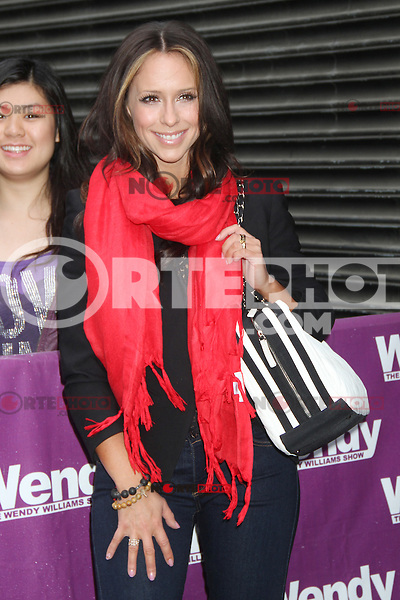 May 09, 2012 Jennifer Love Hewitt seen leaving The Wendy Williams Show in New York City after promoting new Lifetime TV show, The Client List. Credit: RW/MediaPunch Inc.