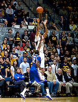 Allen Crabbe of California shoots the ball during the game against Creighton at Haas Pavilion in Berkeley, California on December 15th, 2012.   Creighton defeated California, 74-64.