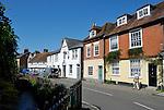 Middlebridge Street in Romsey, Hampshire, England