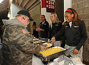 UA women's basketball serves veterans 12/9/2016