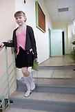 Sascha in ihrer Schule