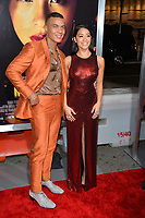 "LOS ANGELES, CA. January 30, 2019: Ismael Cruz Cordova & Gina Rodriguez at the world premiere of ""Miss Bala"" at the Regal LA Live.<br /> Picture: Paul Smith/Featureflash"