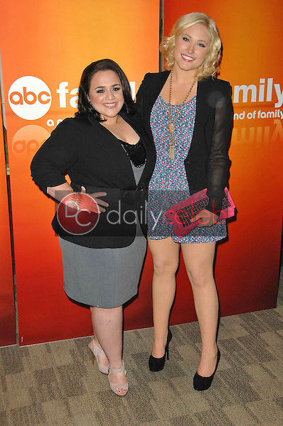Nikki Blonsky and Hayley Hasselhoff<br />