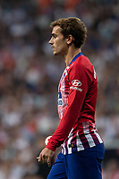 Antoine Griezmann of Atletico Madrid during the match between Real Madrid v Atletico Madrid of LaLiga, date 7, 2018-2019 season. Santiago Bernabéu Stadium. Madrid, Spain - 29 SEP 2018.