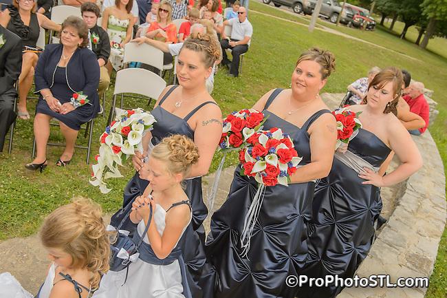 A&J wedding - ceremony photos