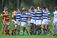 Action from the 2019 Jock Hobbs Memorial Under-19 Tournament rugby match between Auckland and Waikato at Owen Delany Park in Taupo, New Zealand on Sunday, 8 September 2019. Photo: Dave Lintott / lintottphoto.co.nz