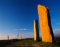 The Ring of Brodgar, Orkney Islands, Scotland,  United Kingdom  UNESCO World Heritage  Ancient Megalithic stone circle