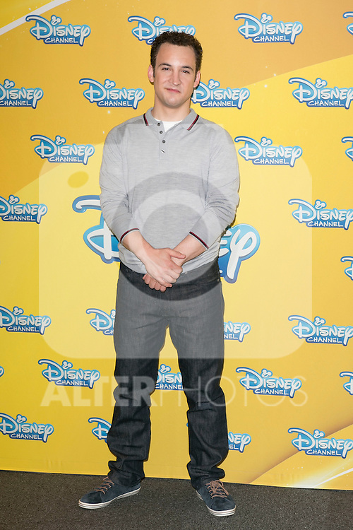 "Ben Savage attend the presentation of the Disney Series ""Girl Meets World"" at the Me Hotel in Madrid, Spain. July 21, 2014. (ALTERPHOTOS/Carlos Dafonte)"